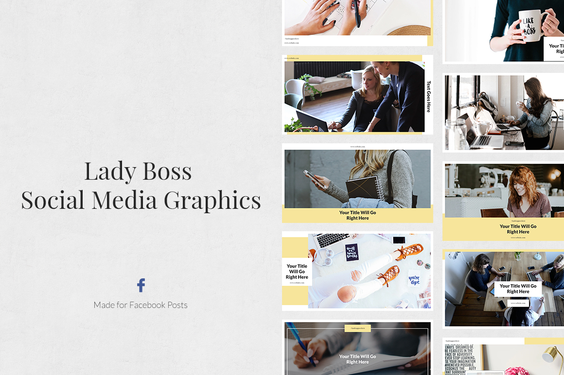 Lady Boss Facebook Posts example image 1