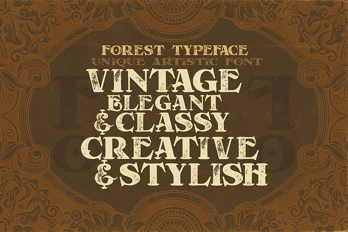 Forest - Display Font example image 5