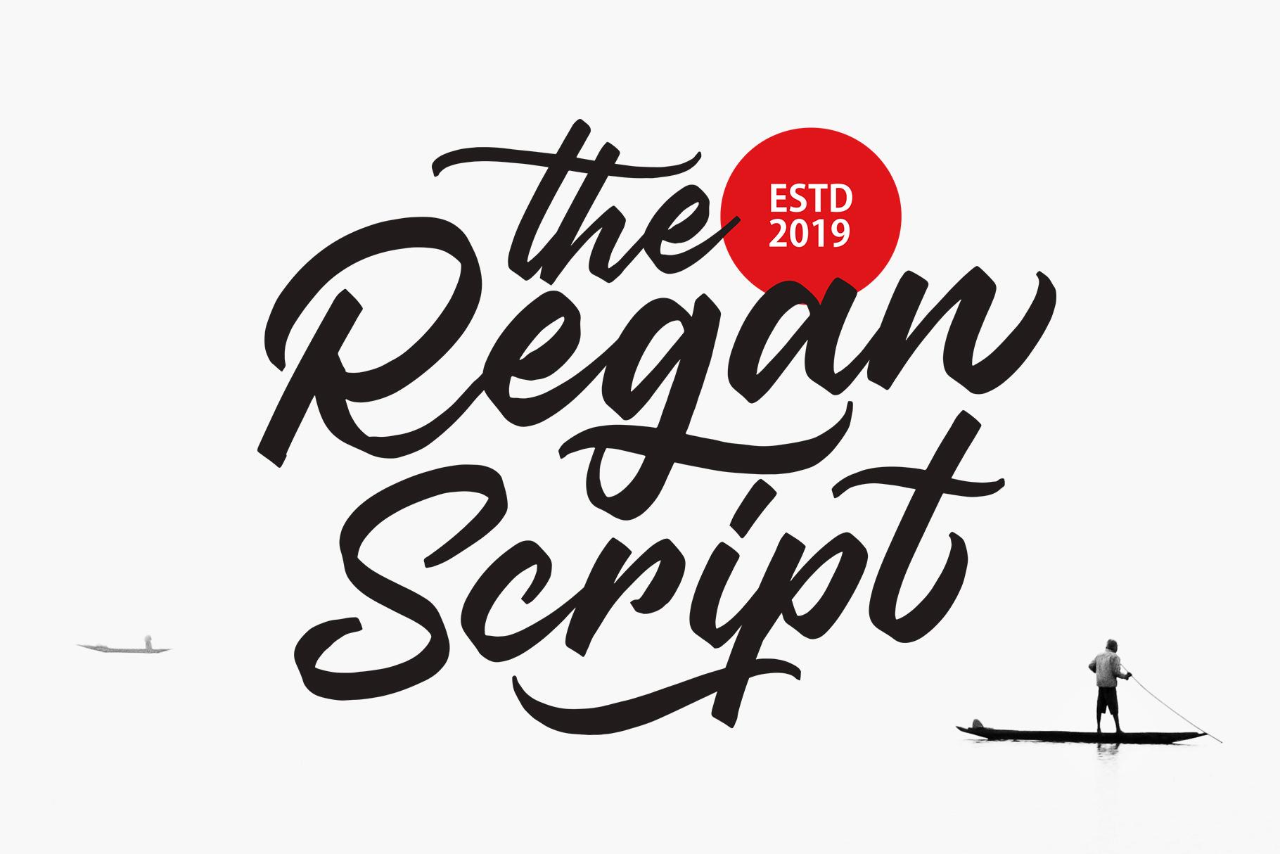 Regan Script example image 1