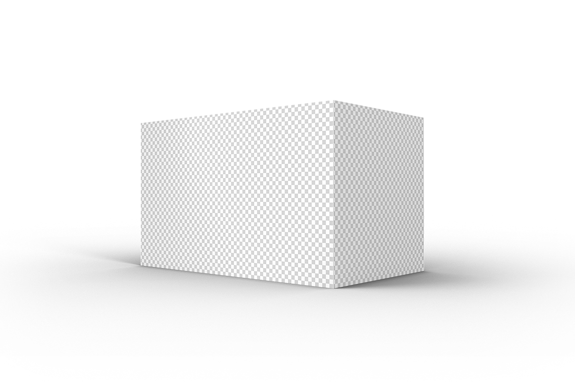 5.3.3 Simple 3D Box Mockup PSD example image 2