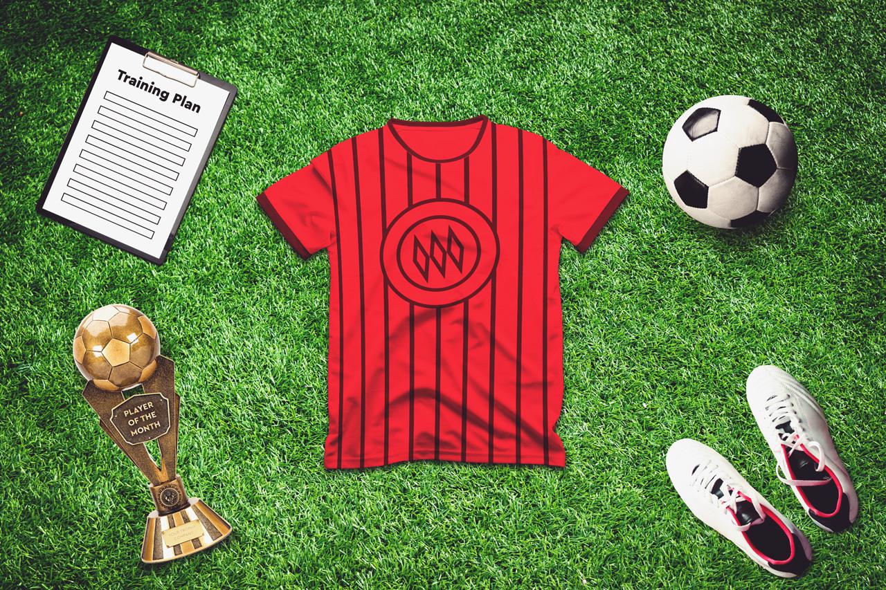 Soccer Scene /Mock-up Creator example image 3