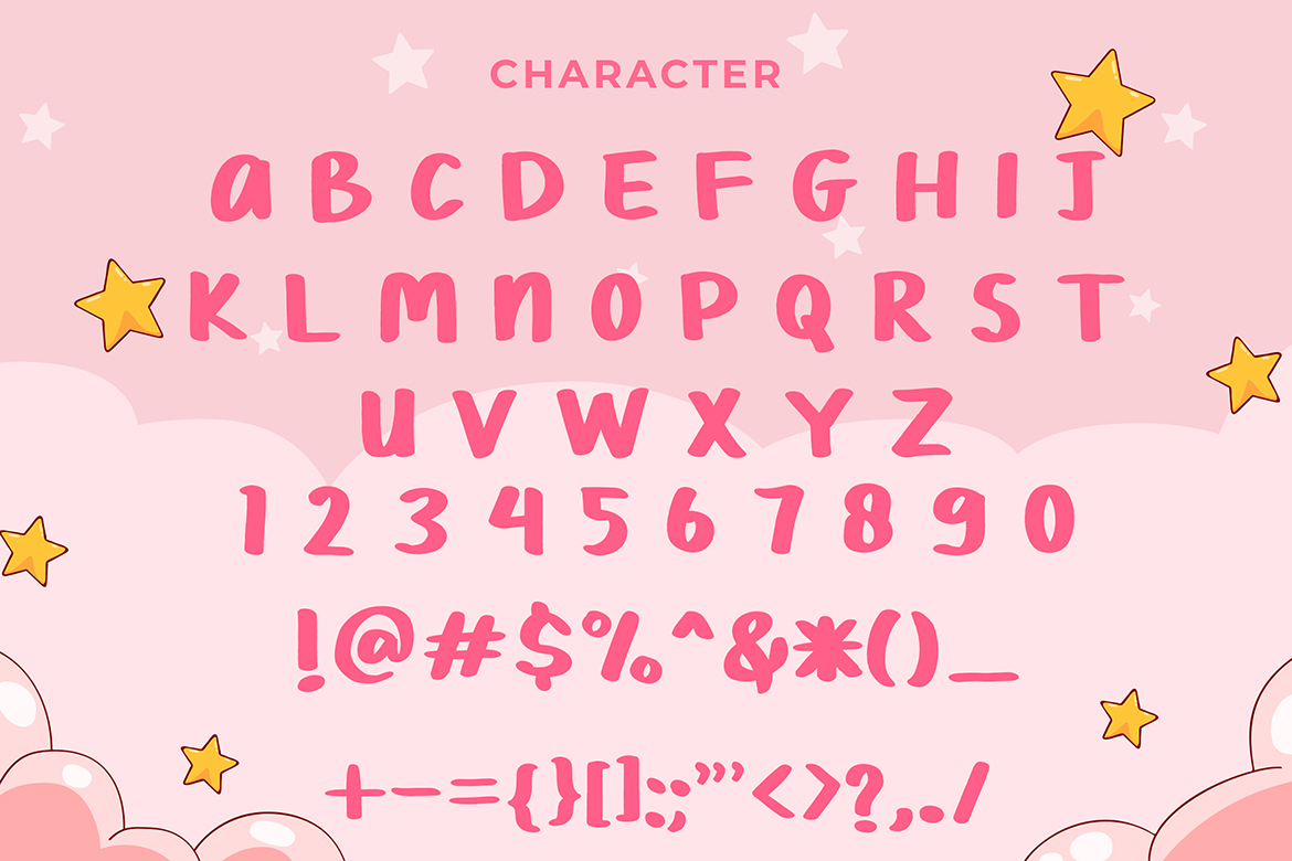 Chimoly Cute Display Font example image 6