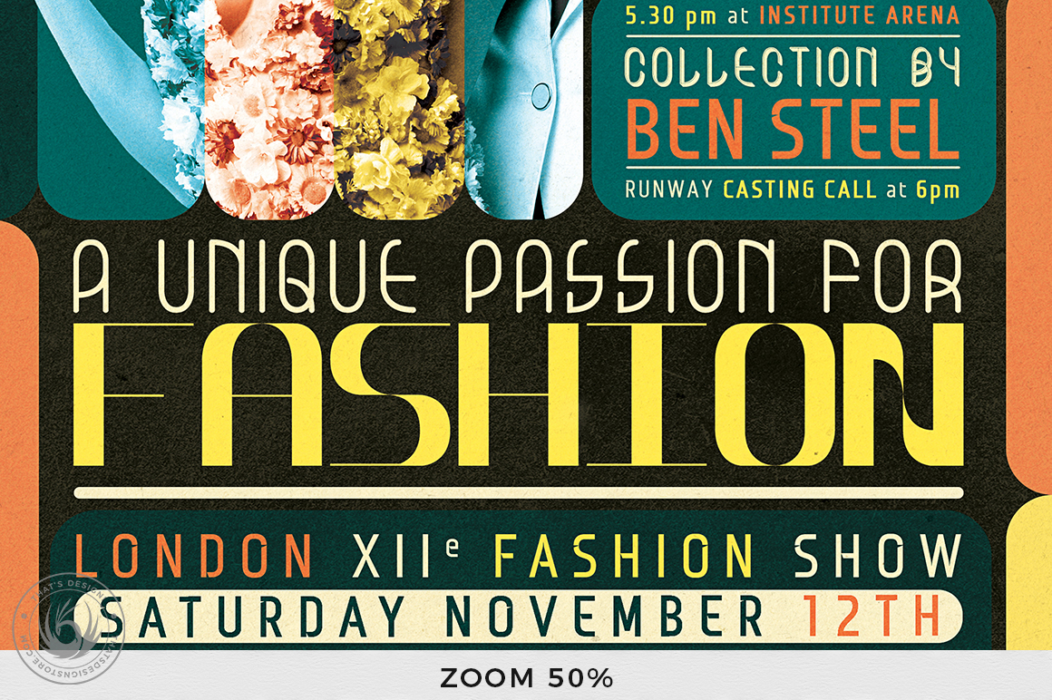 Fashion Show Flyer Template V1 example image 8