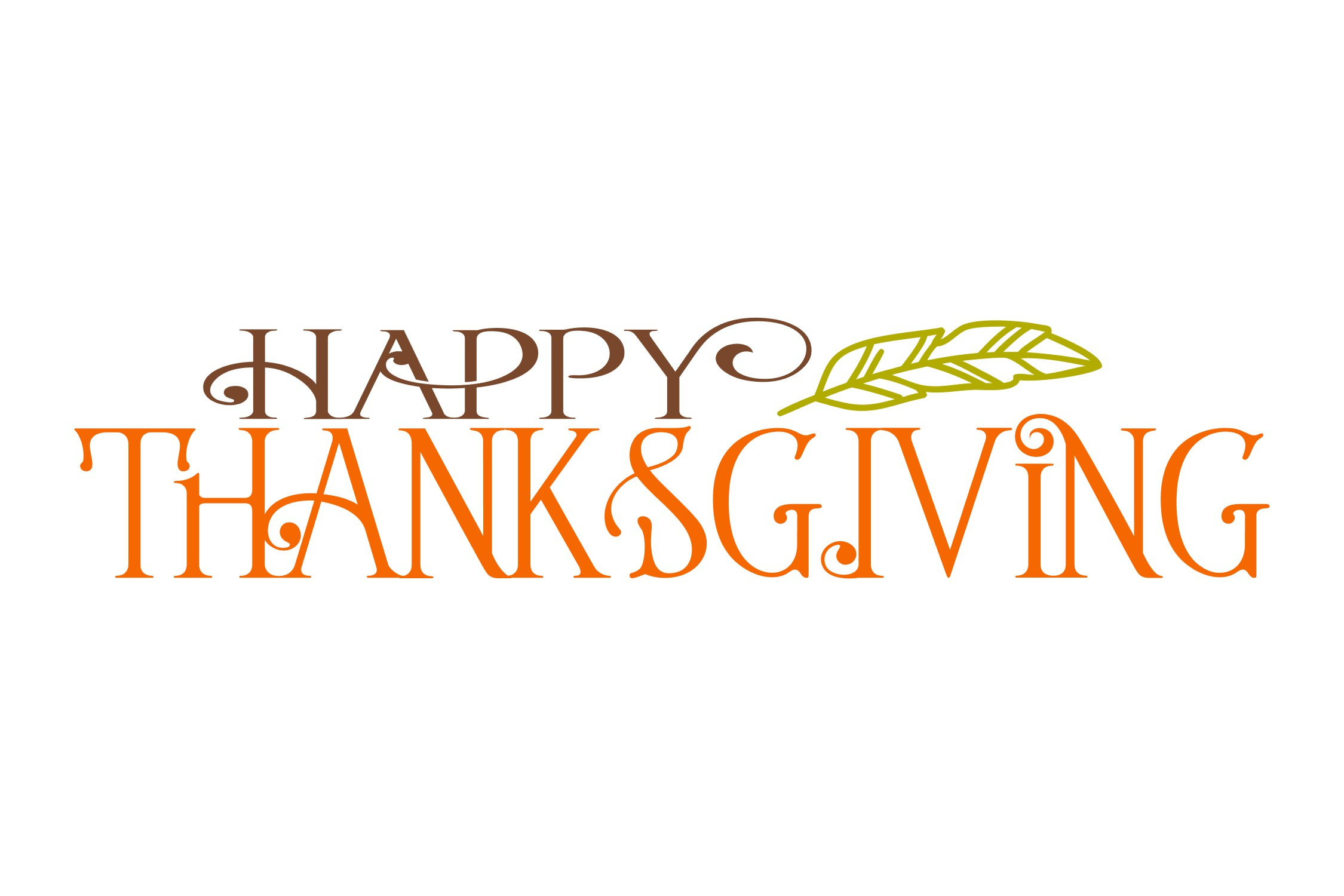 Happy Thanksgiving SVG example image 2
