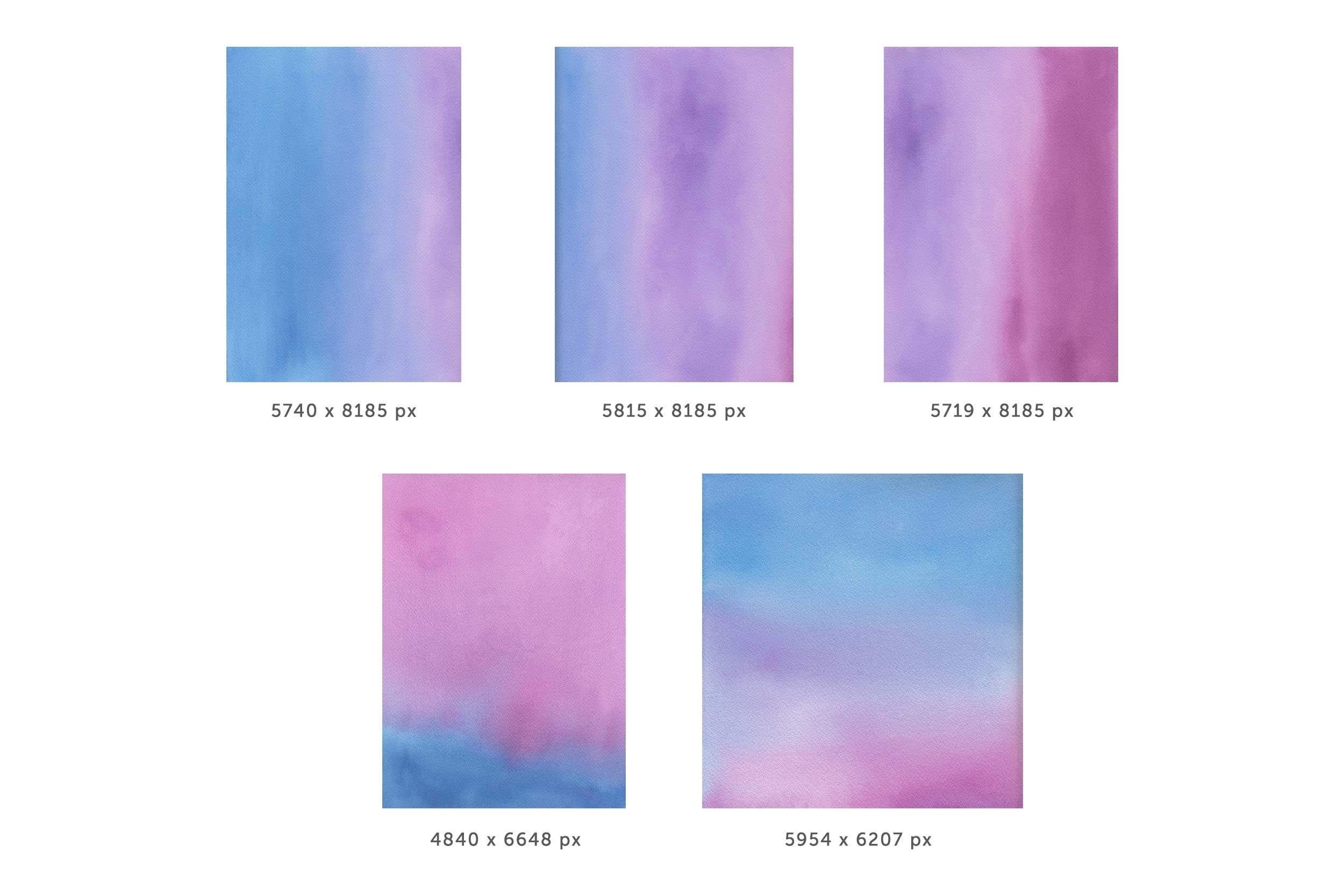 Cotton Candy Bundle | Texture Graphics example image 3