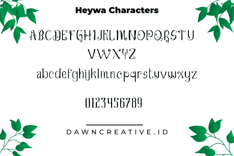 Heywa example image 3