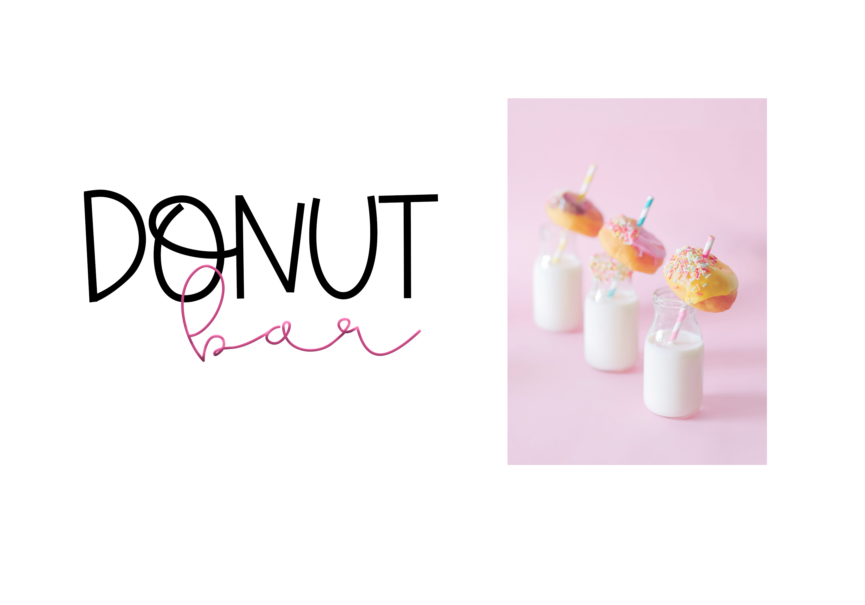 Sprinkled Donut - A Handwritten Font example image 7