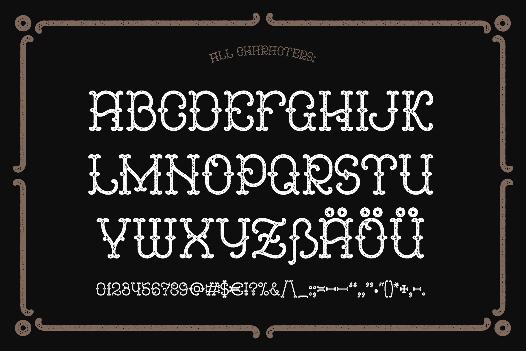 Anise Seeds typeface example image 4