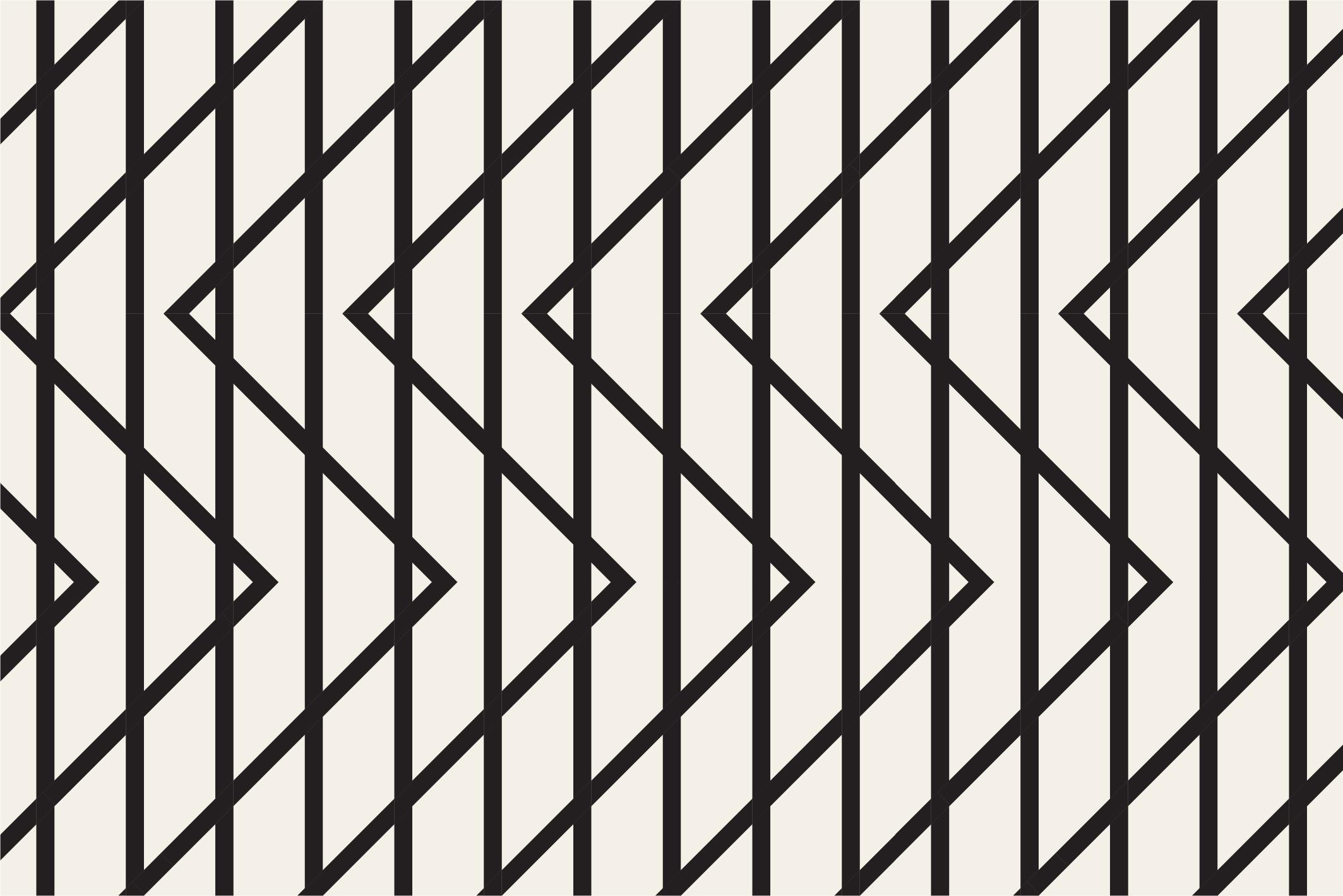 Geometric seamless patterns example image 5