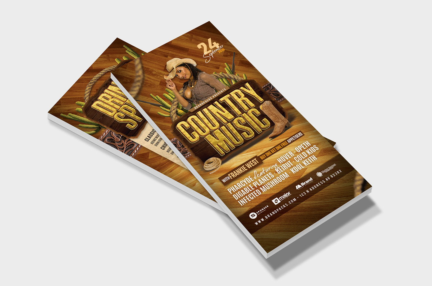 Country Music Flyer Template example image 8