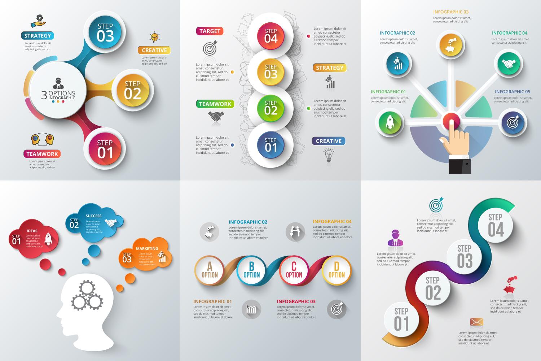 Infographic elements bundle v.01 example image 8