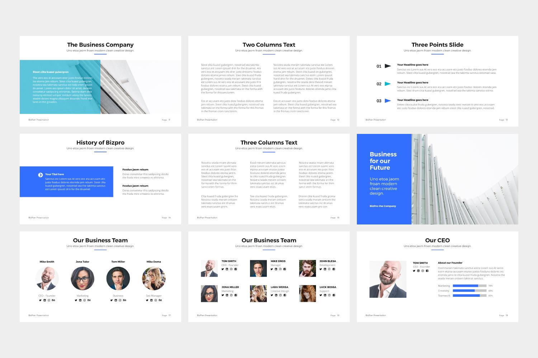 BizPro | Proposal Google Slides Template example image 4
