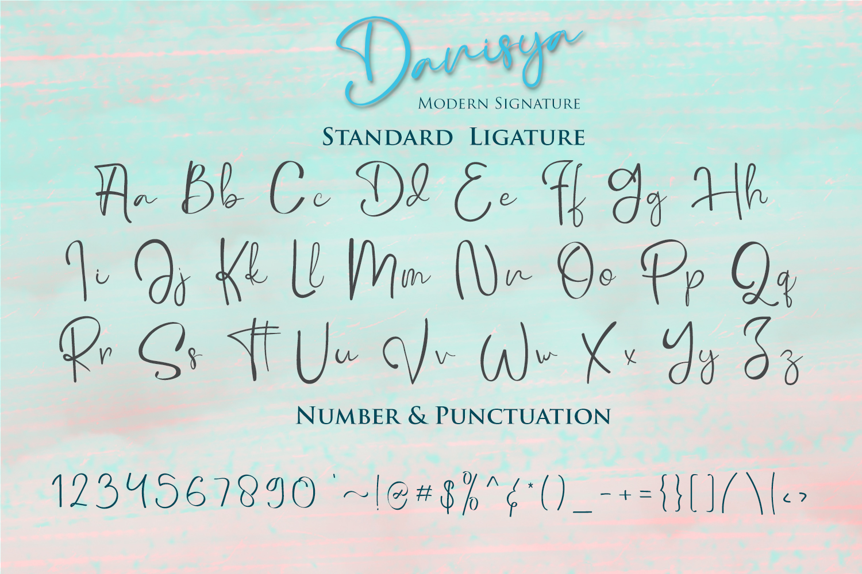 Danisya Modern Signature example image 9