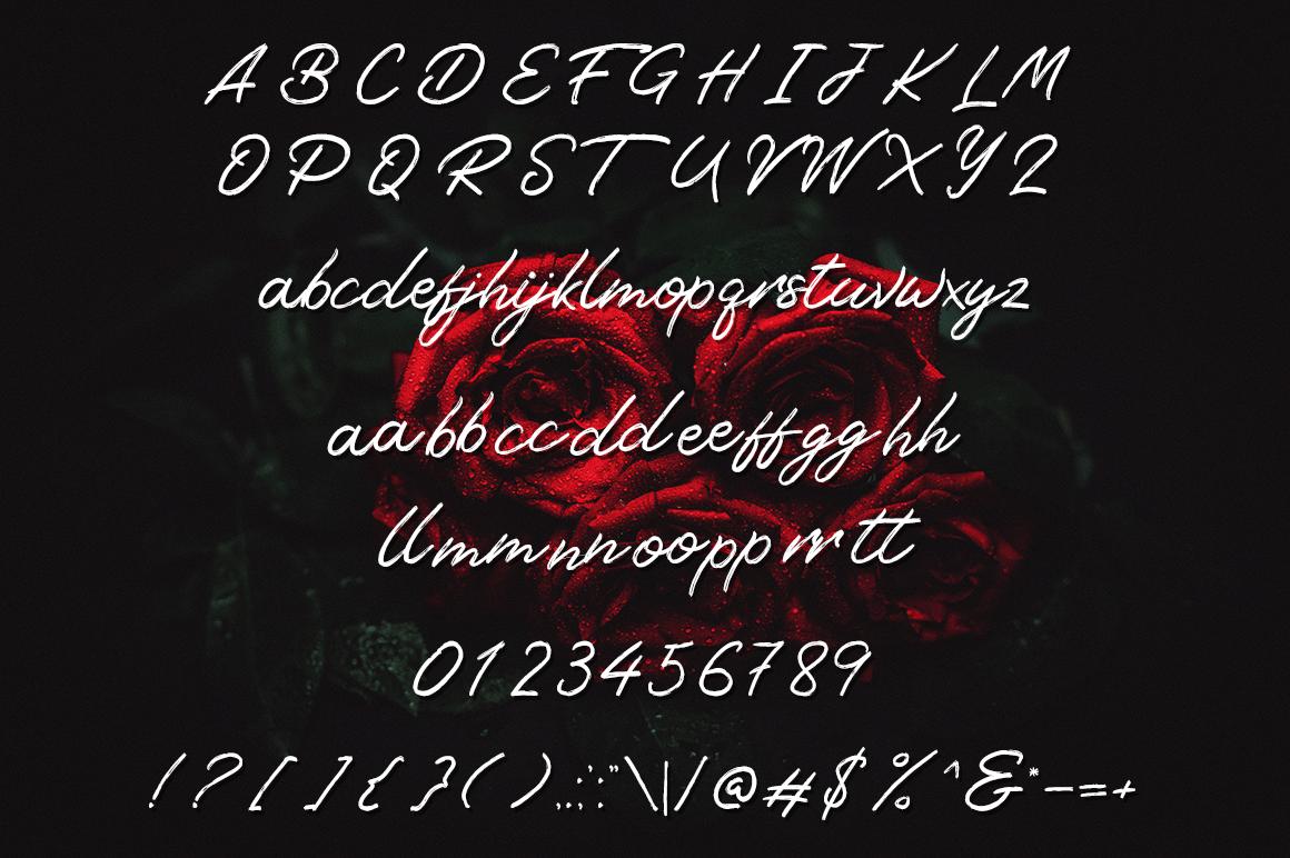 Tangier Script example image 6