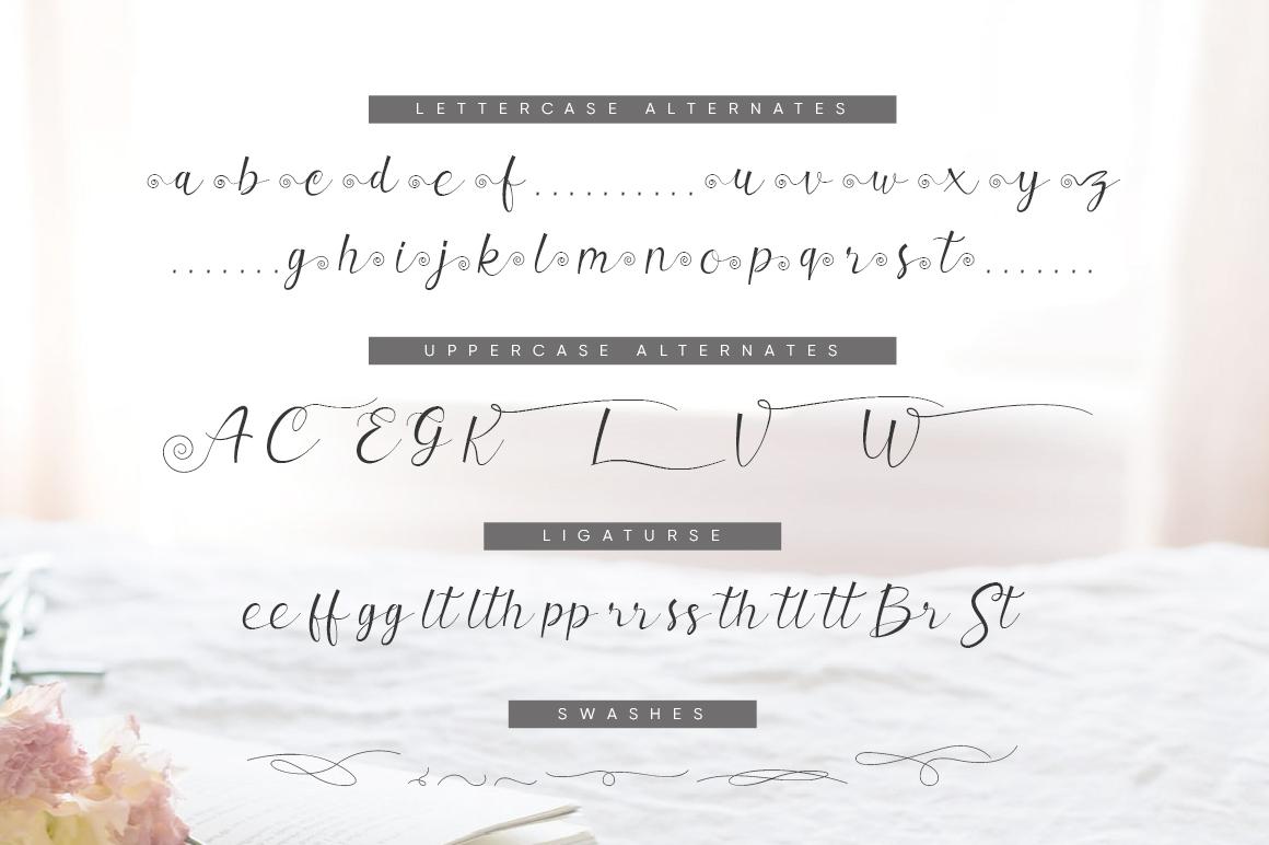 Valerissa Script example image 8