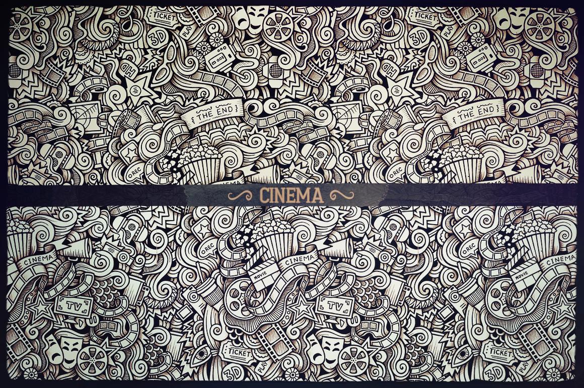 -50 SALE/ Big Doodle Patterns Bundle #2 example image 6