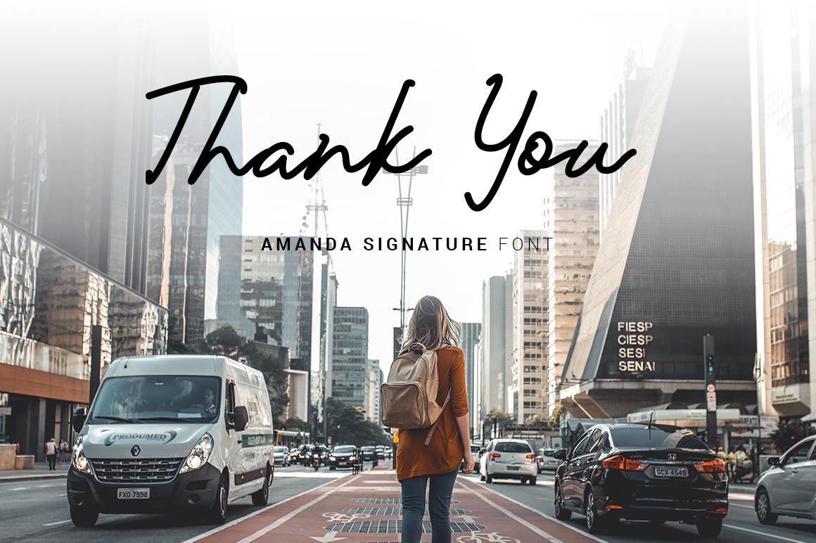 Amanda Signature example image 14