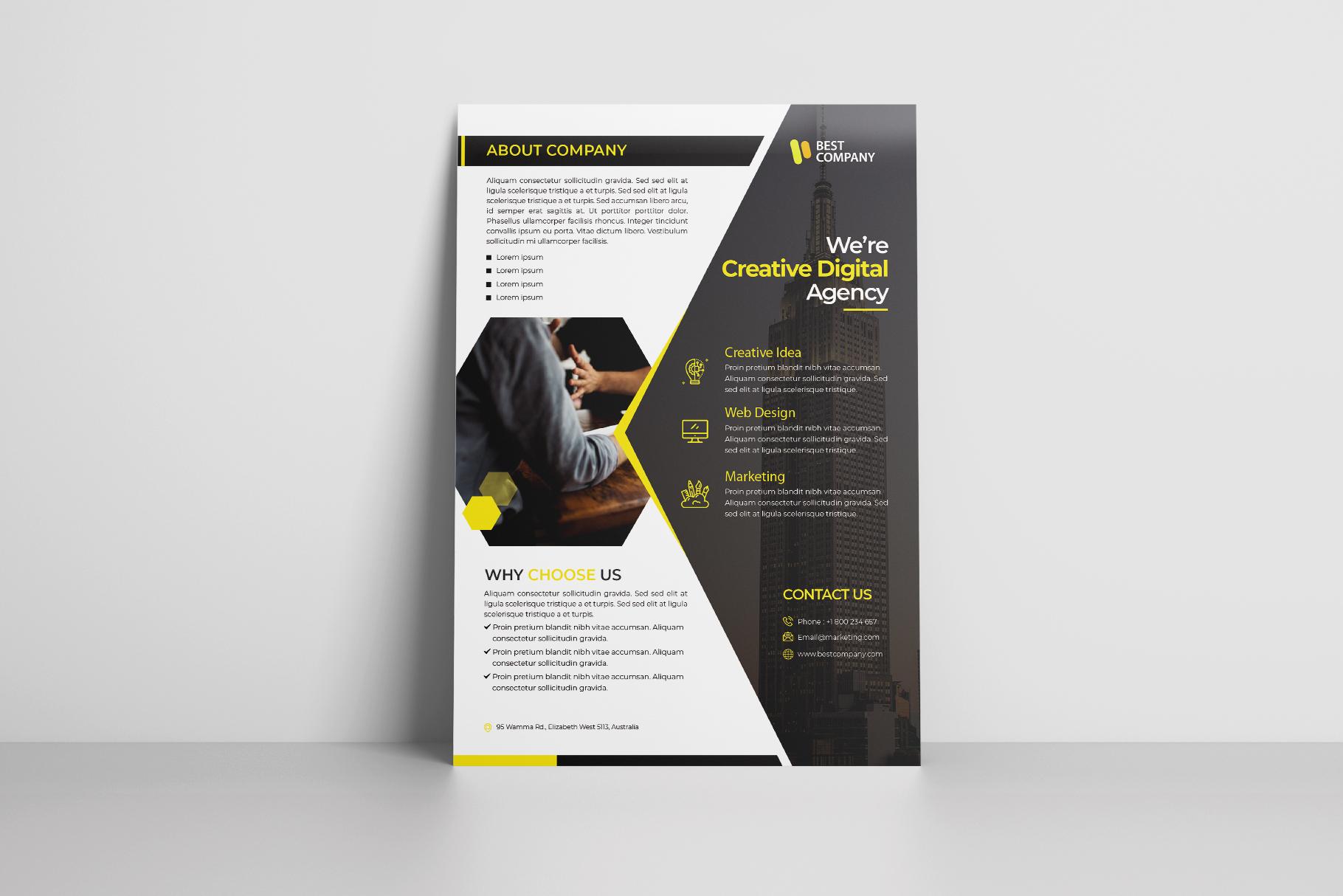 Creative Corporate Flyer Vol. 02 example image 2