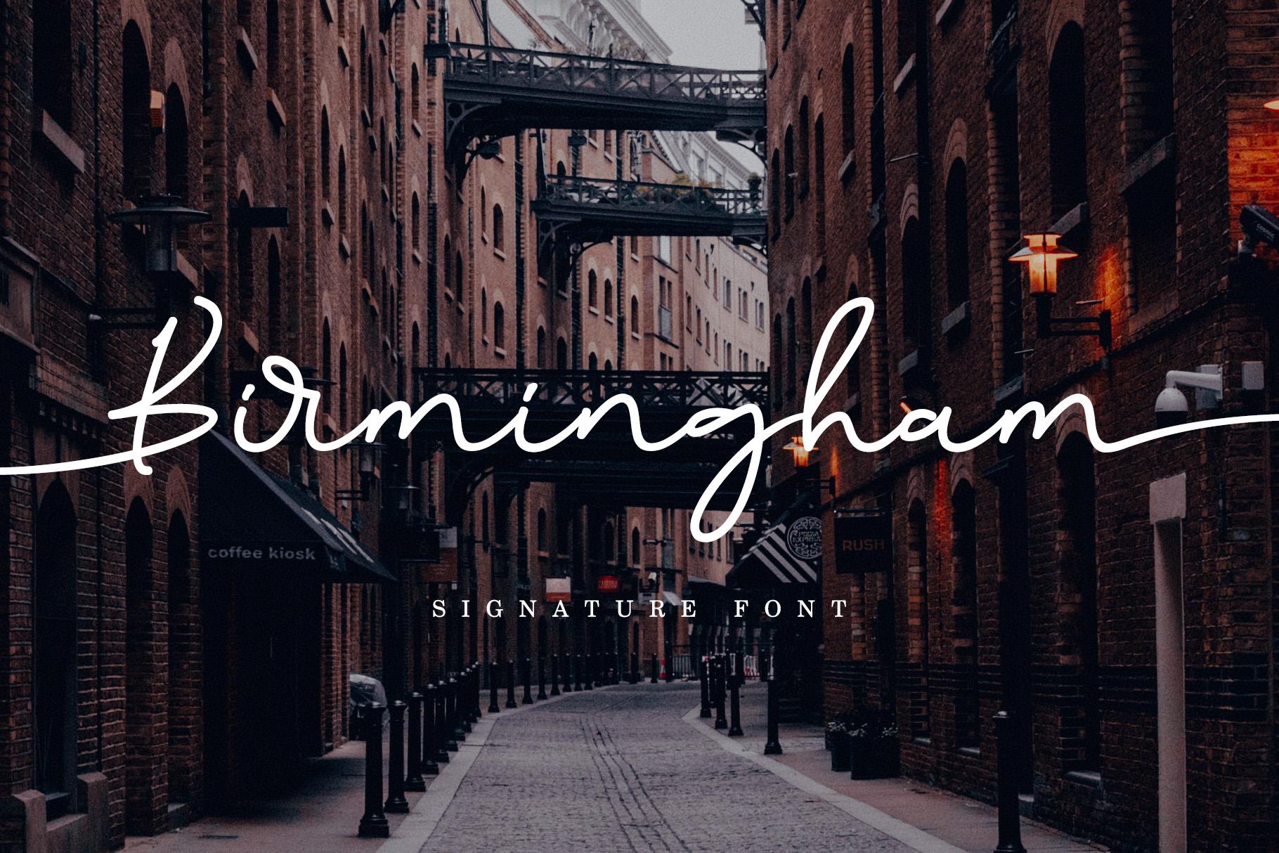 Birmingham Signature example image 1
