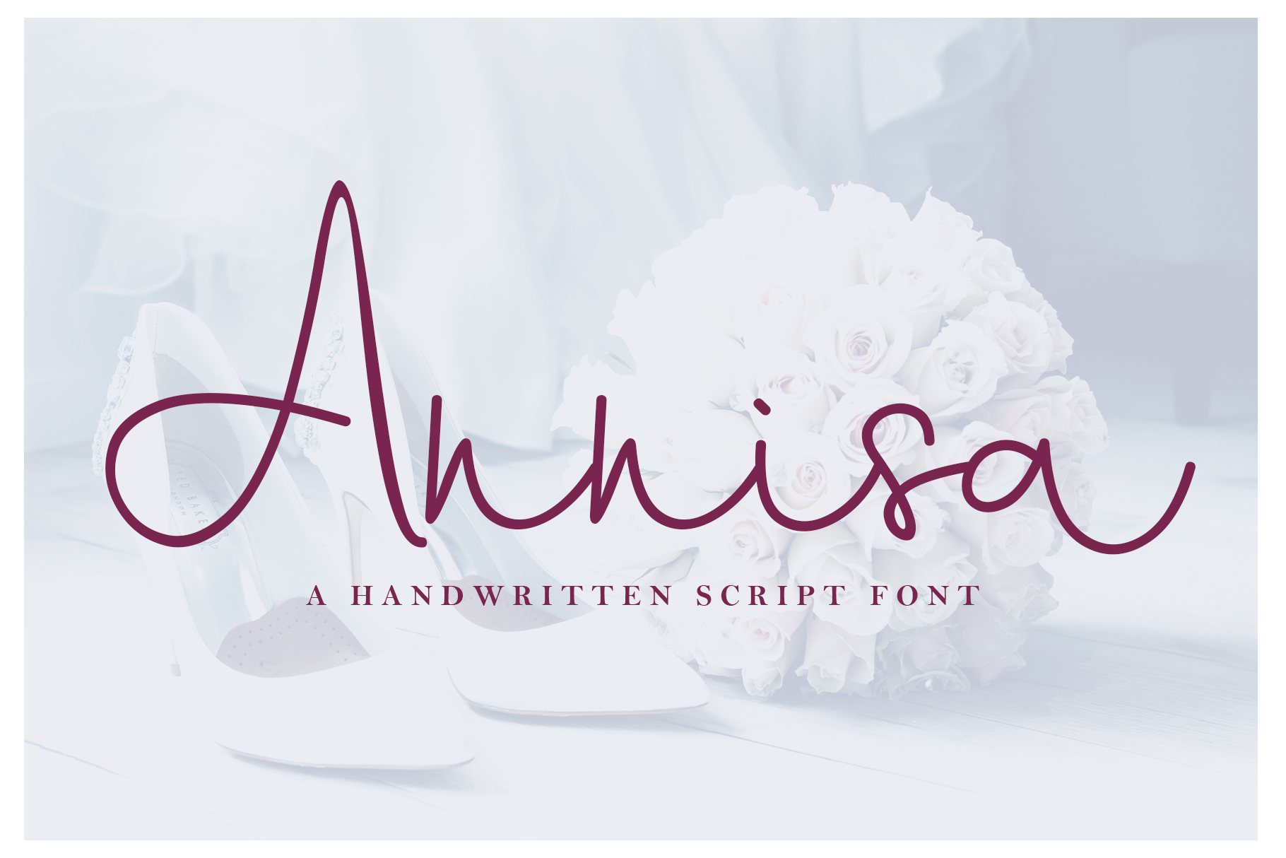 Annisa Script Font example image 1