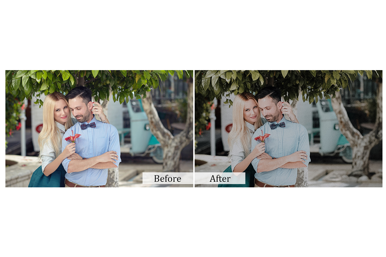 100 True Love Photoshop Actions example image 2