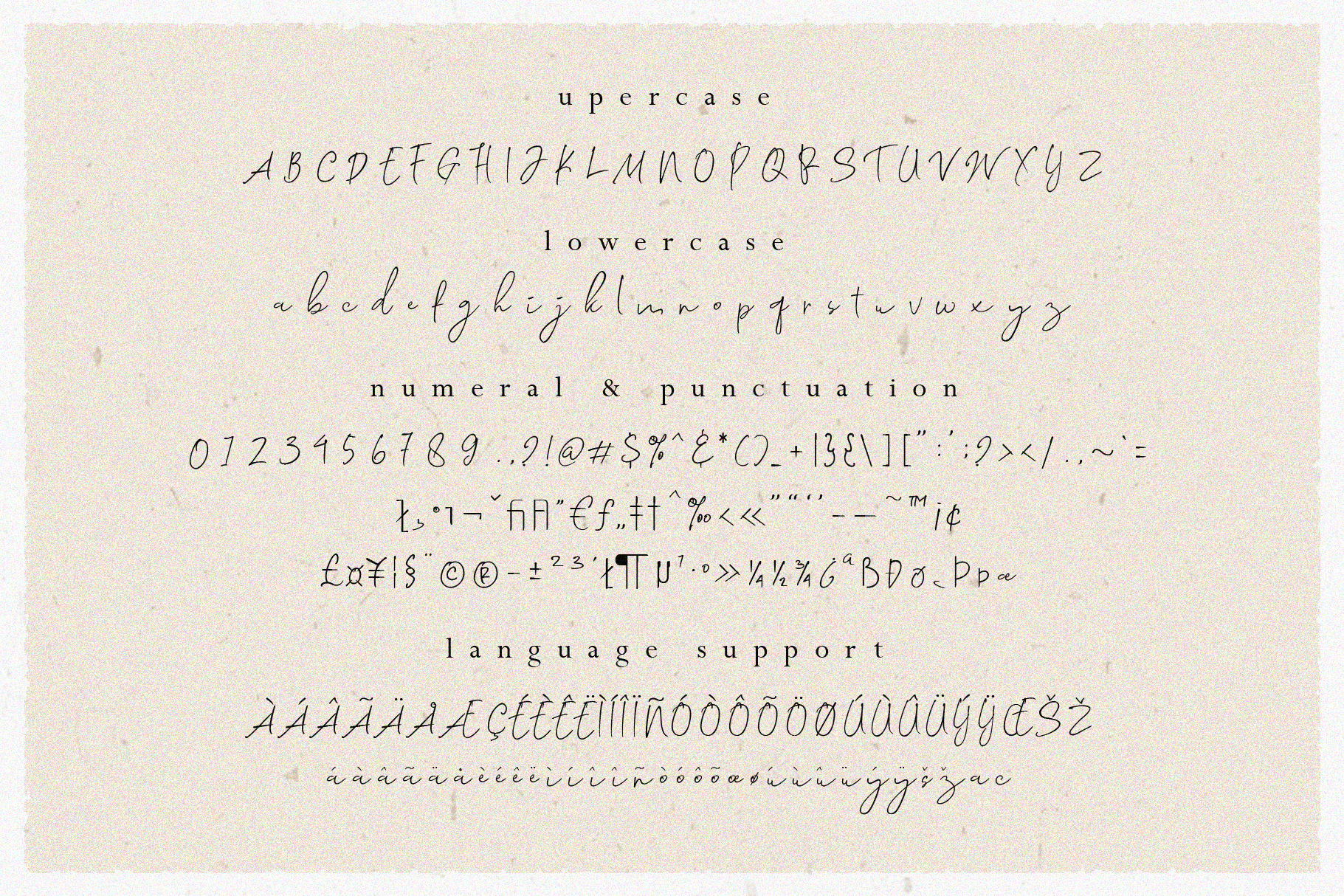 Morosyot Script Signature example image 4