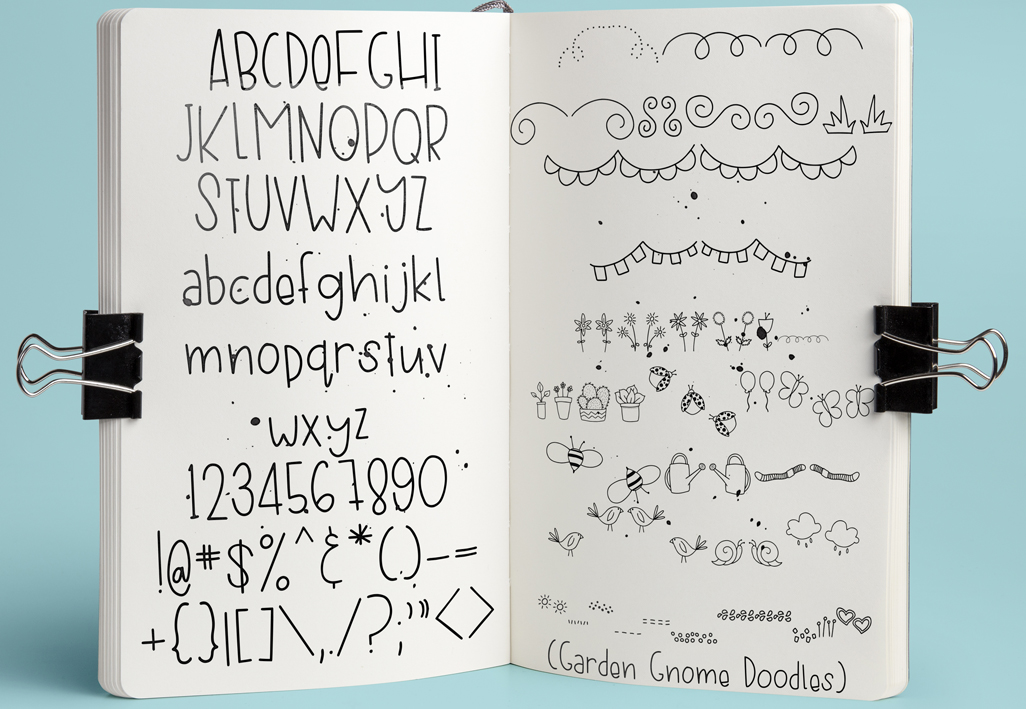 Garden Gnome Font Duo example image 5