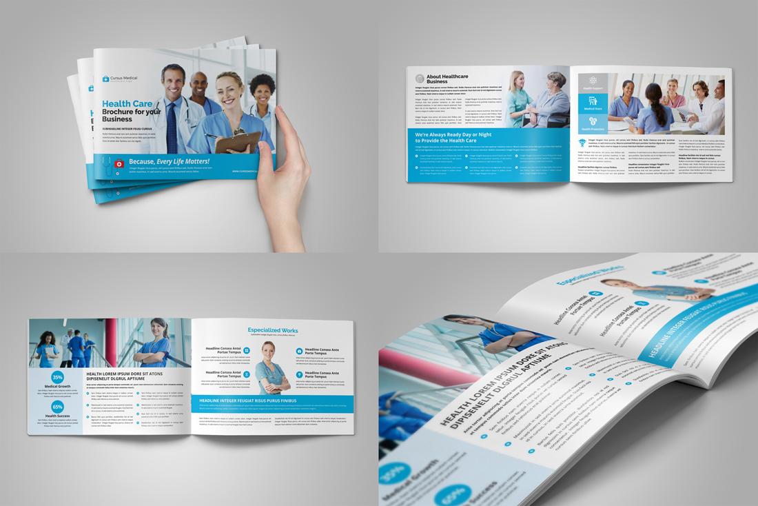 Medical HealthCare Brochure Bundle example image 10
