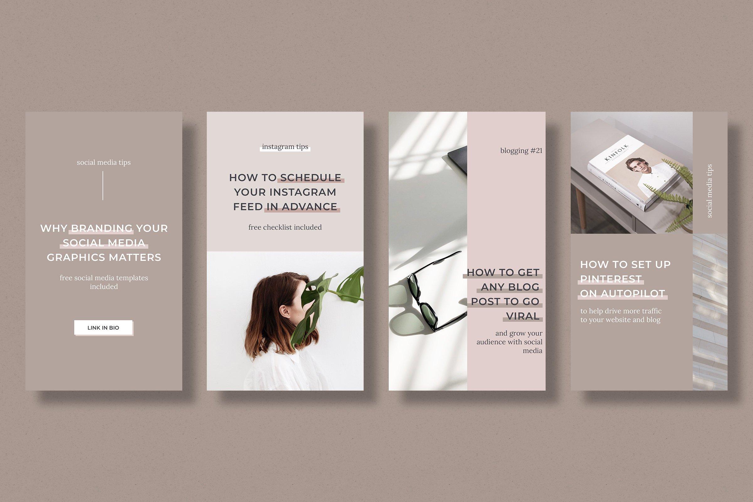 Instagram marketing bundle for bloggers example image 11