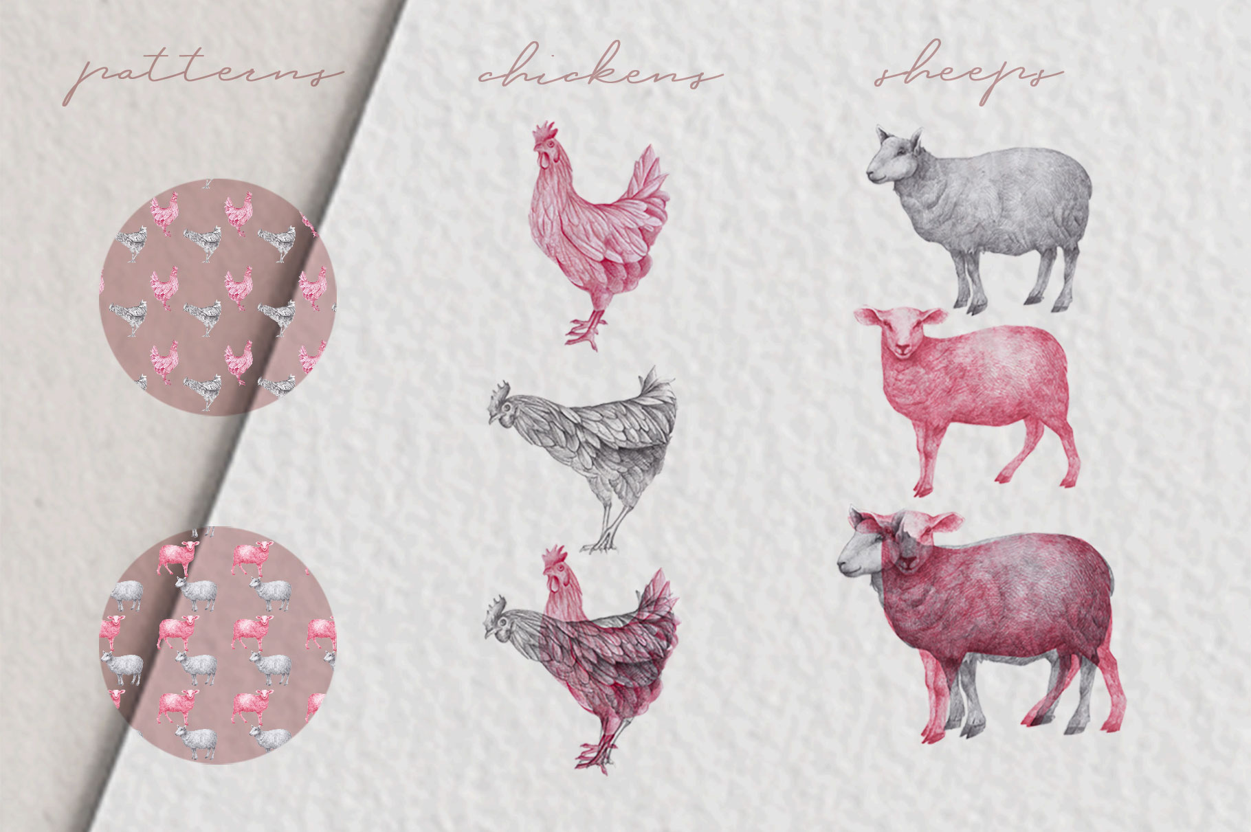 Farm Animals Illustration Pack example image 3