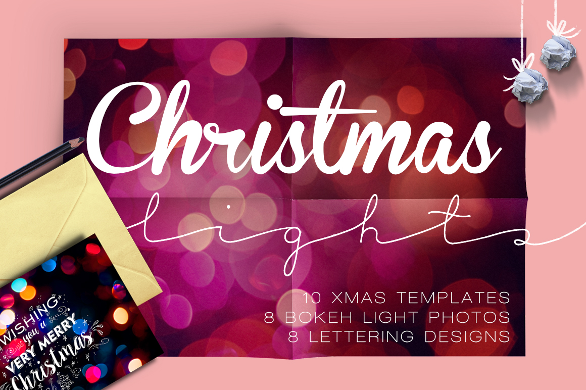 Christmas lights: lettering + more! example image 1