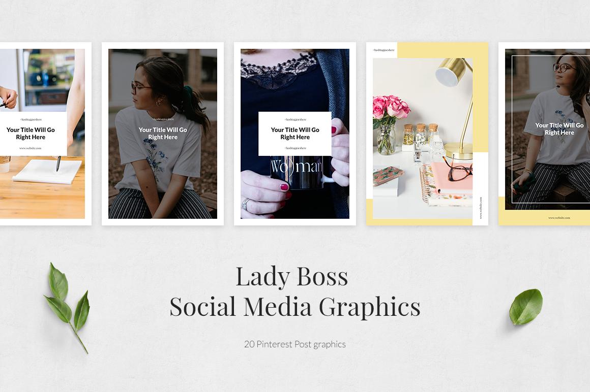 Lady Boss Pinterest Posts example image 2