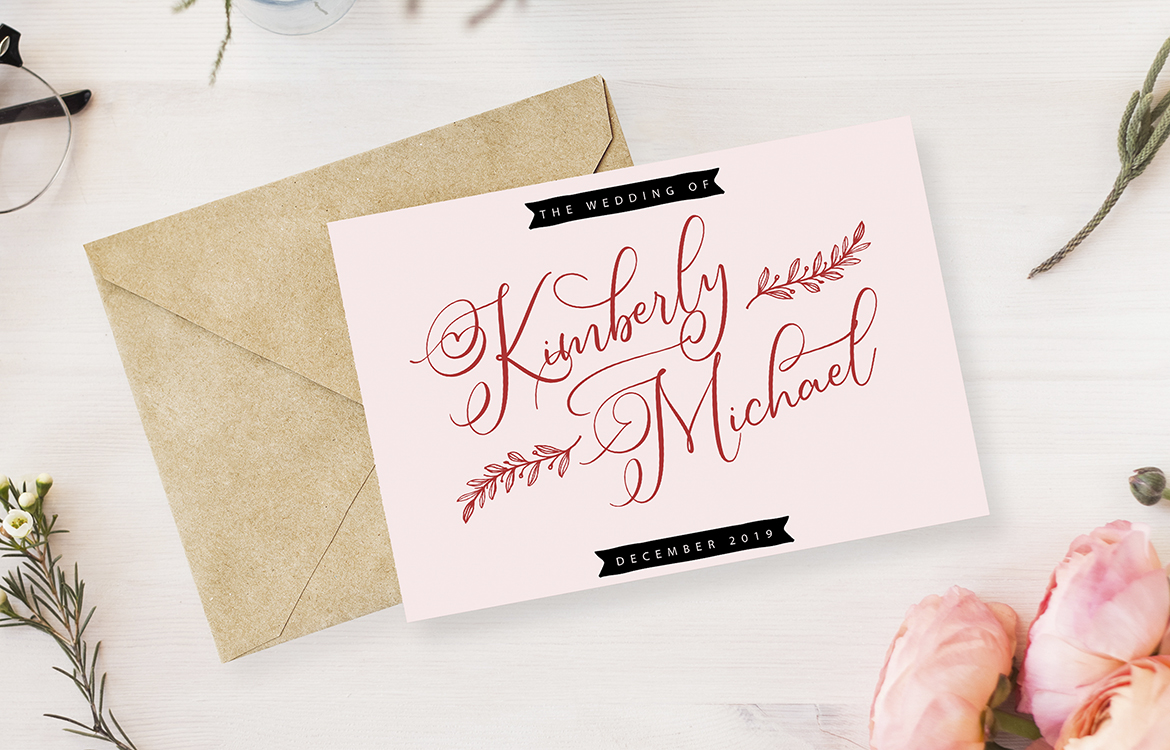 Simply Harmony | ASimply Stylistic Modern Calligraphy Script example image 6