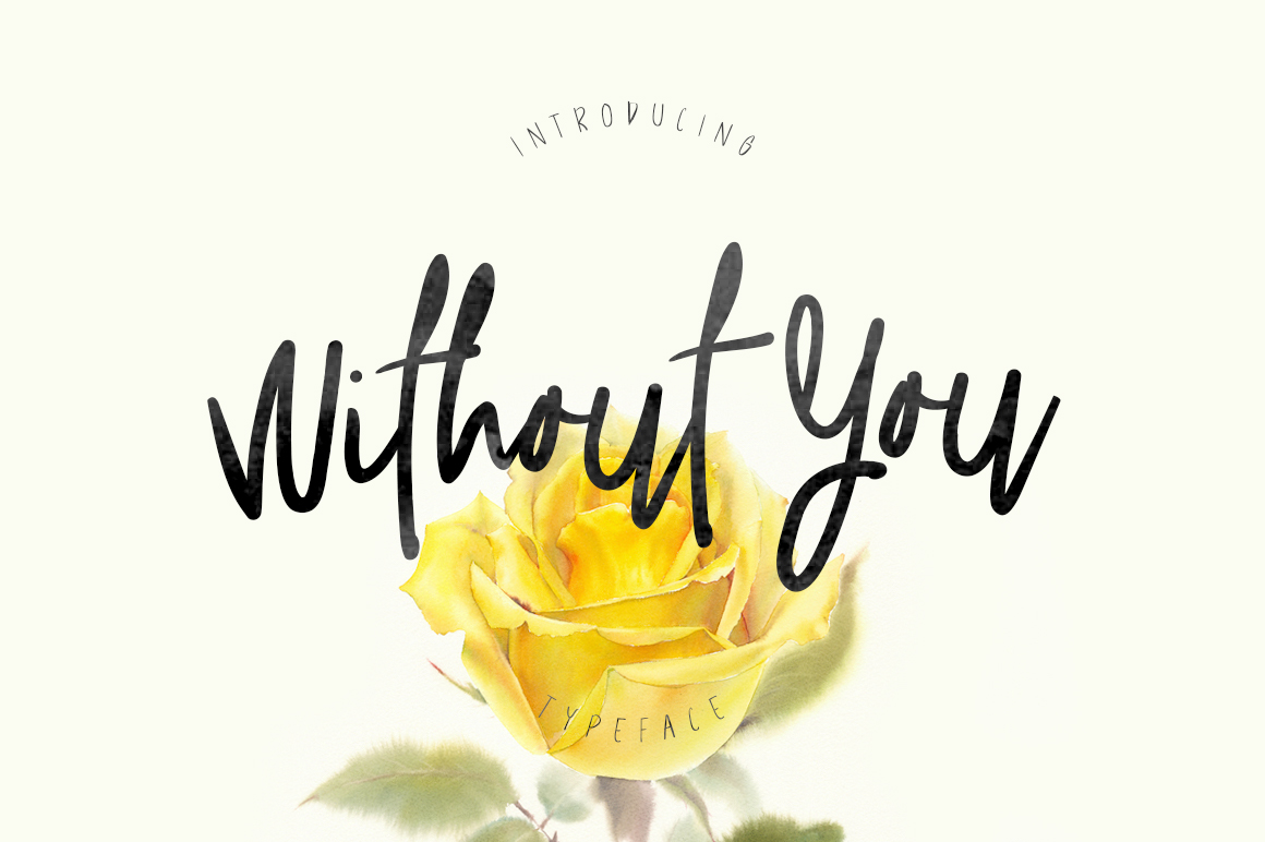 Without You Typeface example image 1