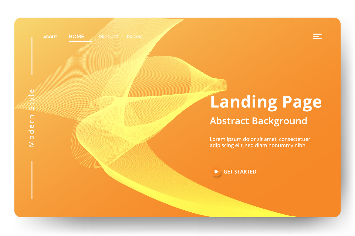8 Abstract background design example image 10