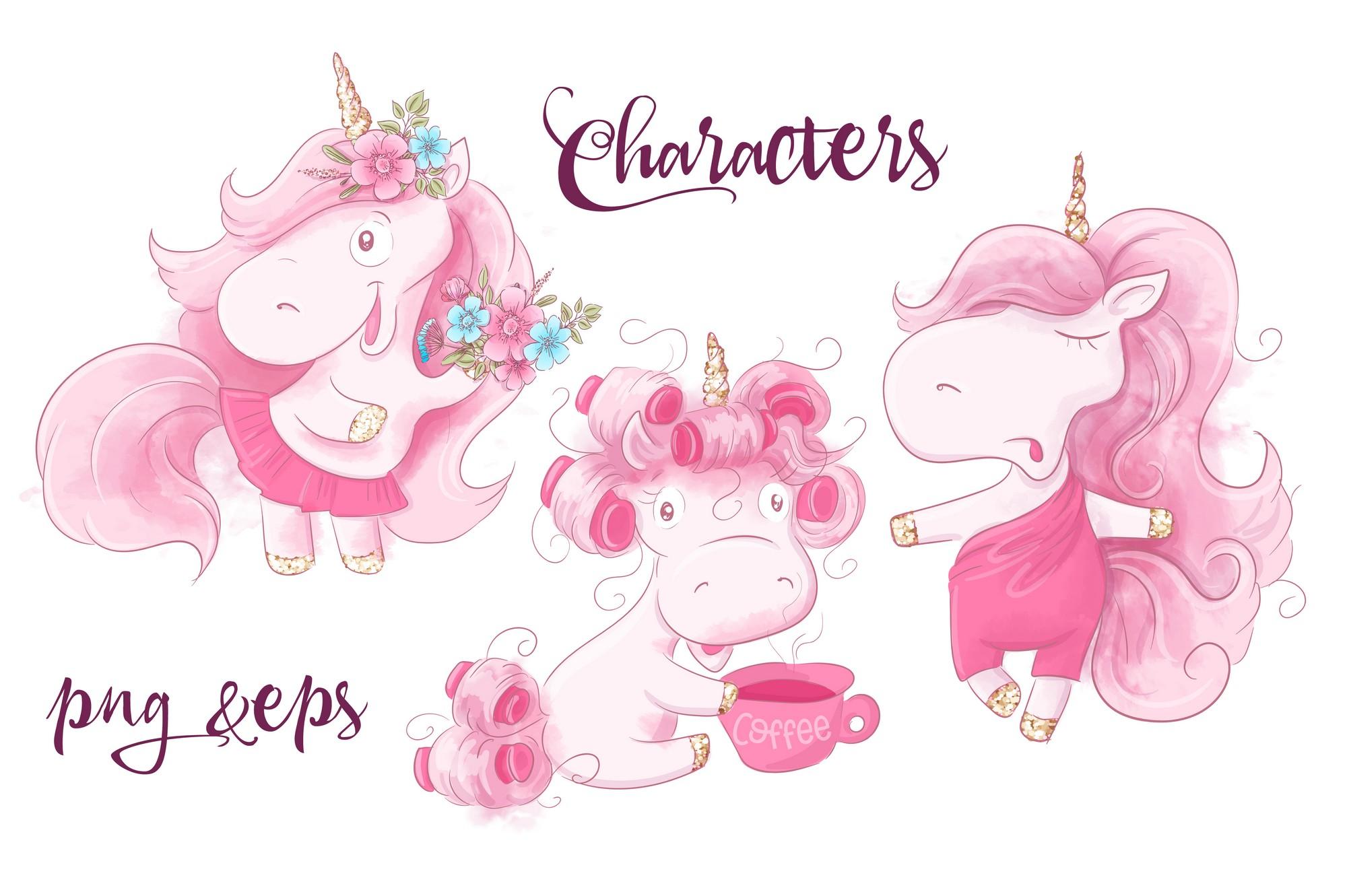 Unicorn Girls example image 2