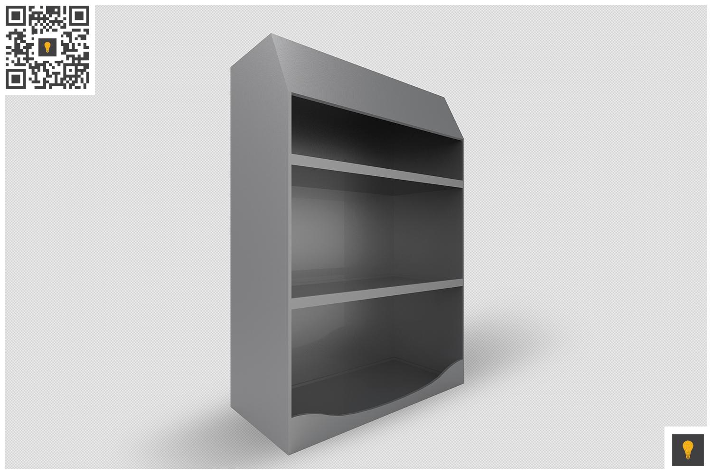 Promotional Shelf Display 3D Render example image 10