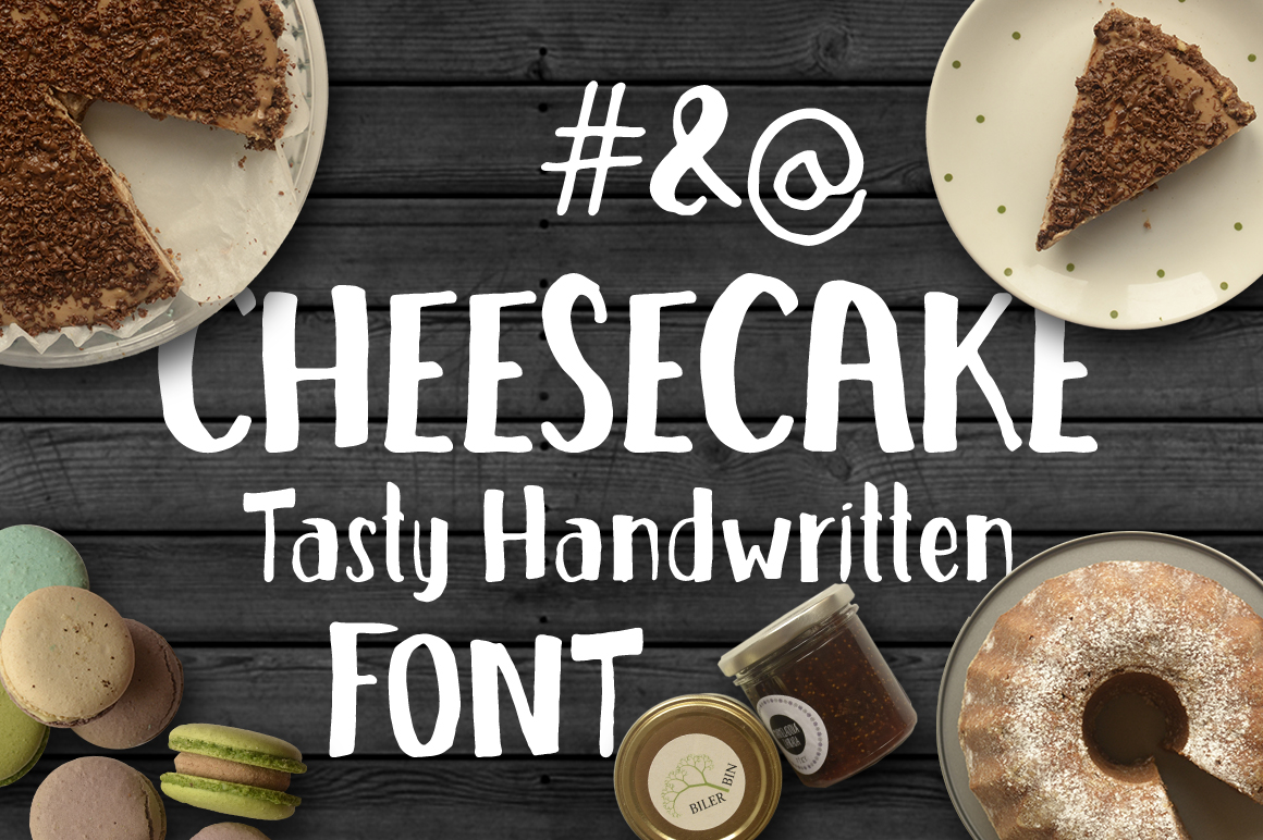 Cheesecake - Tasty Handwritten Font example image 2