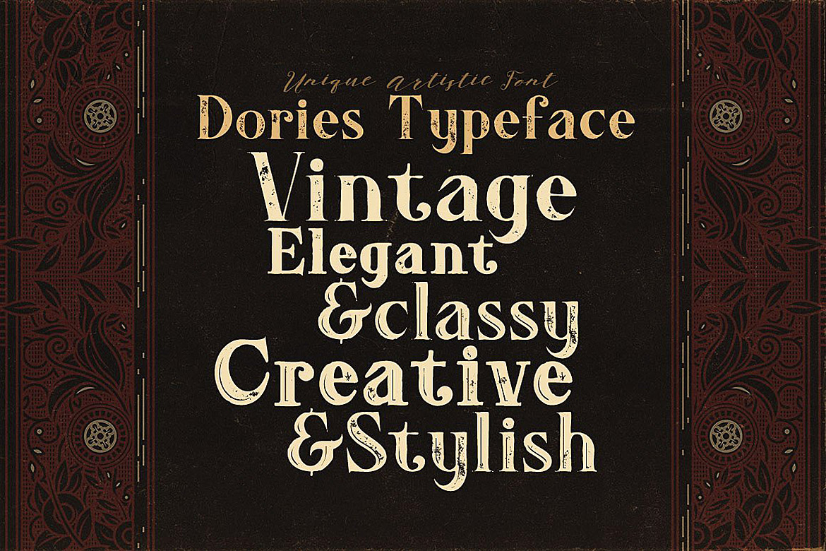 Dories - Display Font example image 3