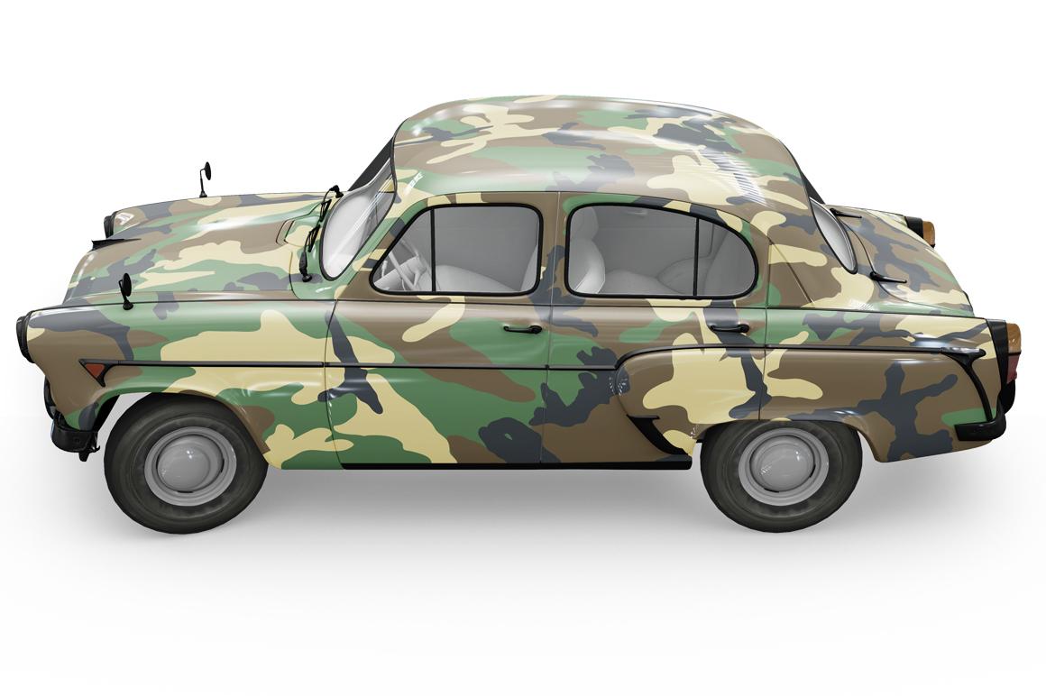 Vintage Car Mockup example image 18