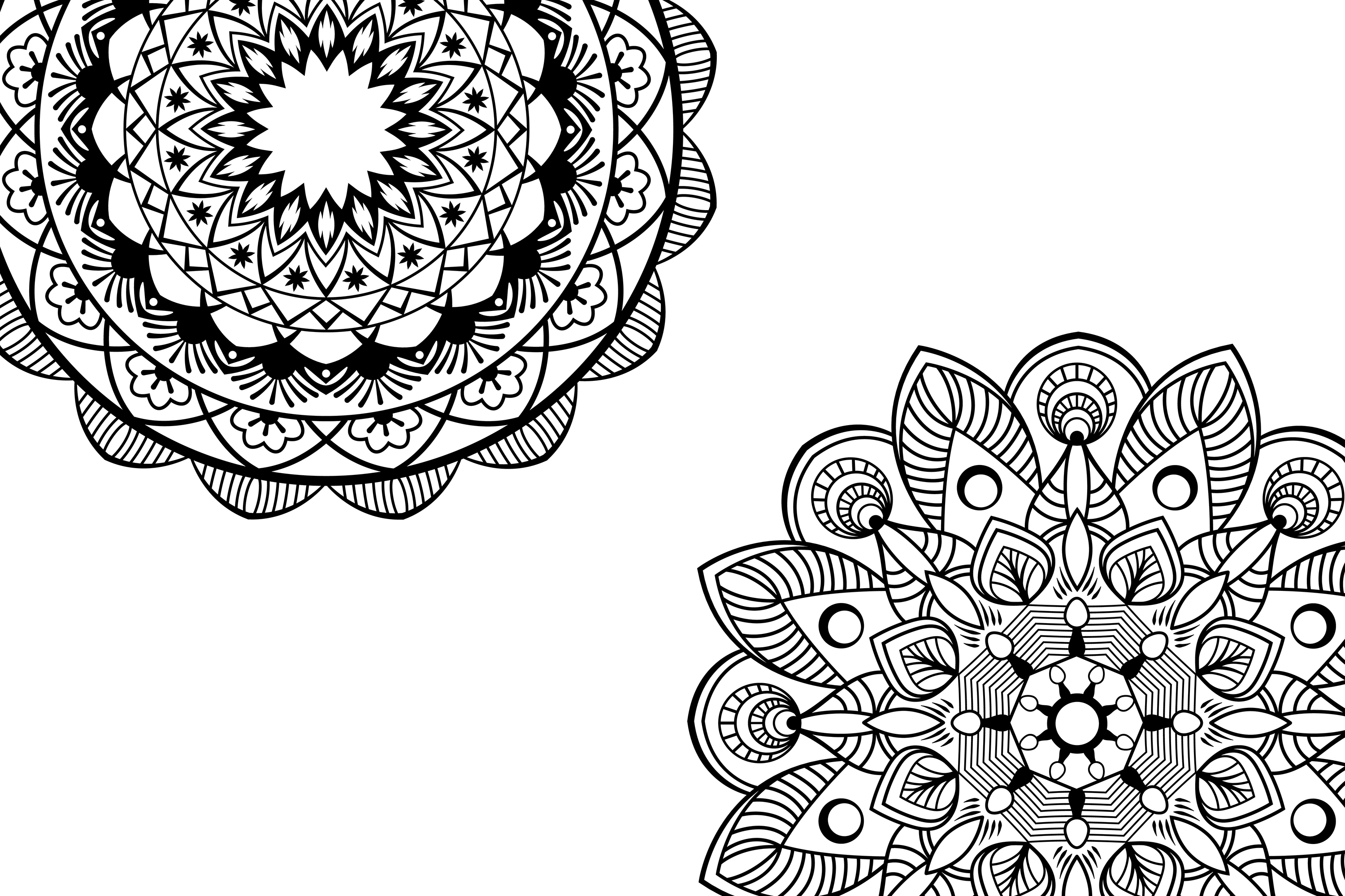 Mandala svg files example image 4