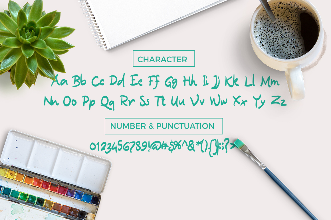 Quickbrush Font example image 2