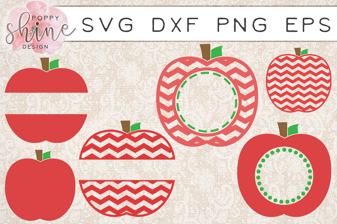 Teachin' Bundle of 17 SVG PNG EPS DXF Cutting Files example image 3