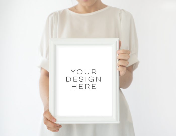Frame Mock up, White Frame mockups, mockup frame,Instant Download, Digital Download Photo, Styled Background, Frame Stock Photo, Stock image example image 2