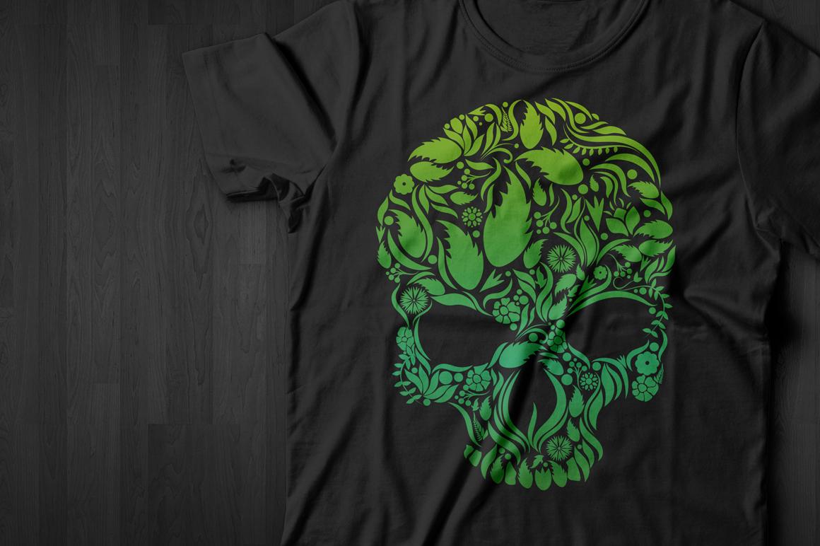Herbs Skull example image 2