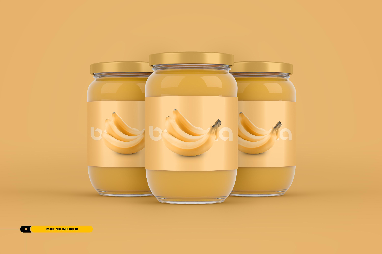 Jam Jar Packaging Mockup example image 1