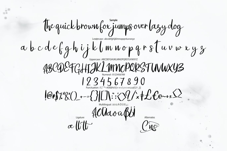Catline | Modern Calligraphy Script example image 6