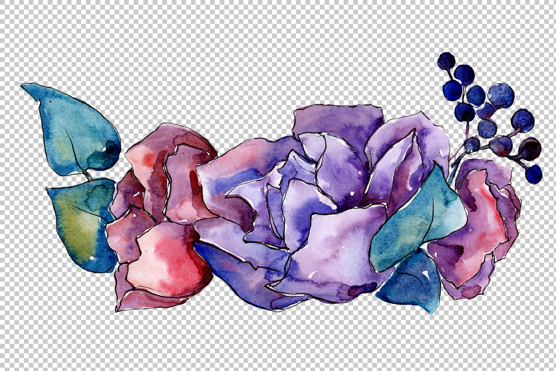 Bouquet Tender dreams watercolor example image 3