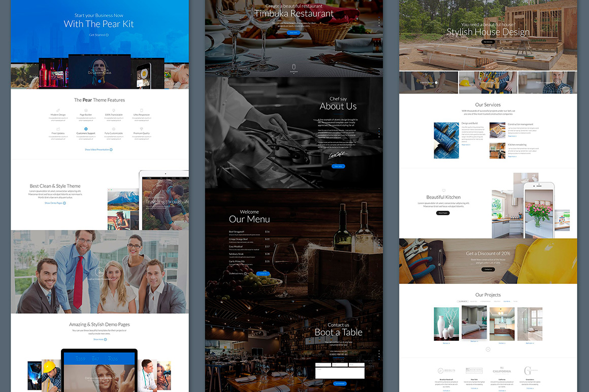 The Pear Starter Web UI Kit example image 3