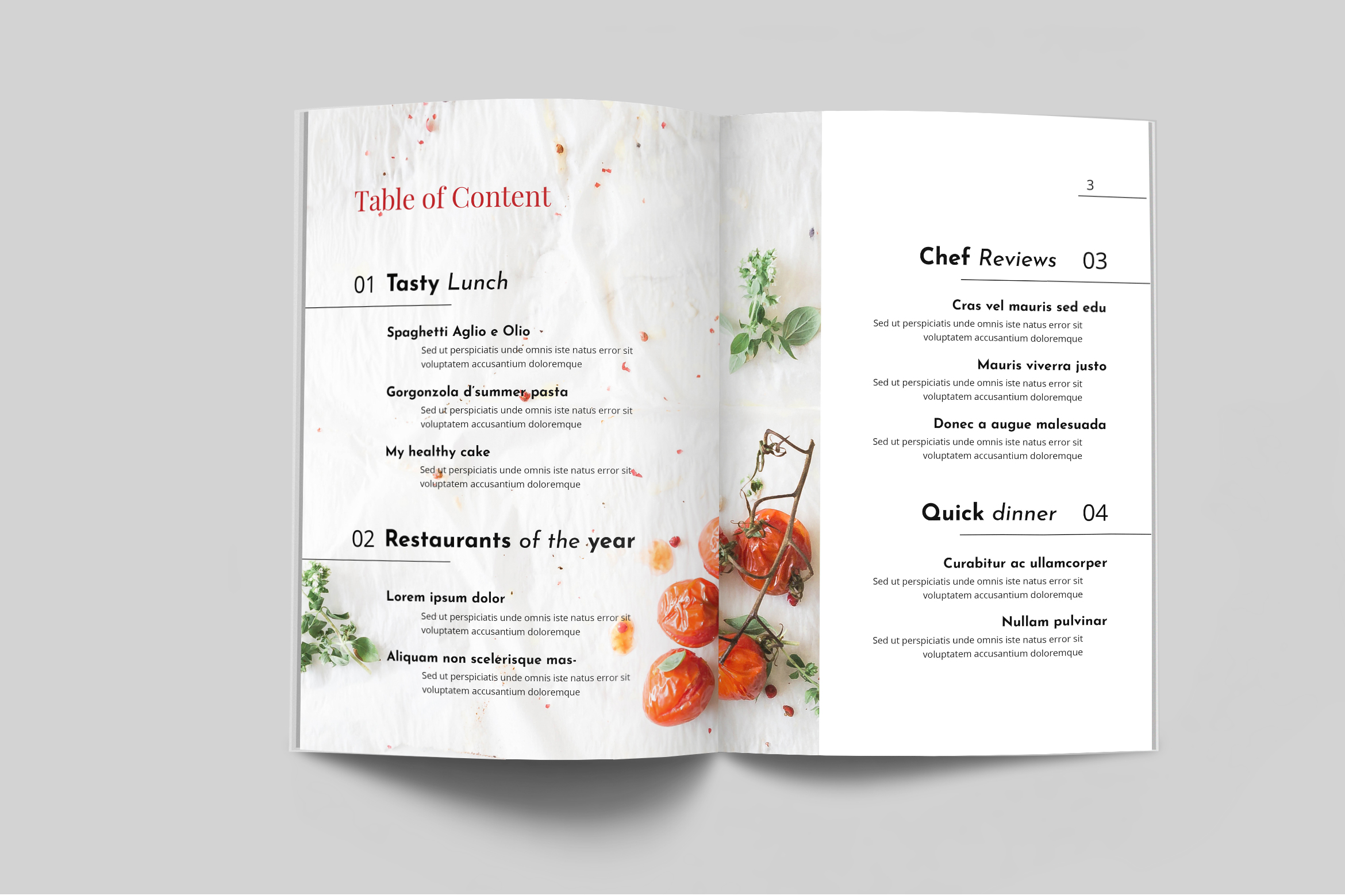 Nutrient - Food Catalogue Template example image 4